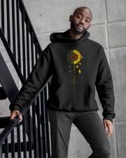 Choose Happy Hooded Sweatshirt apparel-hooded-sweatshirt-lifestyle-front-10