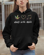 Weed Love Music Hooded Sweatshirt apparel-hooded-sweatshirt-lifestyle-07