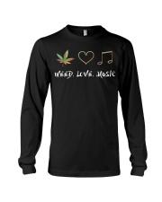 Weed Love Music Long Sleeve Tee thumbnail