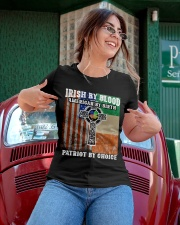Irish By Blood American By Birth Patriot By Choice Ladies T-Shirt apparel-ladies-t-shirt-lifestyle-01