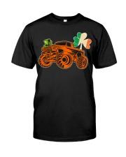Kids Saint Patricks Day Gift for Monster Truck Lov Classic T-Shirt front