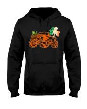 Kids Saint Patricks Day Gift for Monster Truck Lov Hooded Sweatshirt thumbnail