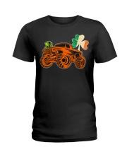 Kids Saint Patricks Day Gift for Monster Truck Lov Ladies T-Shirt thumbnail