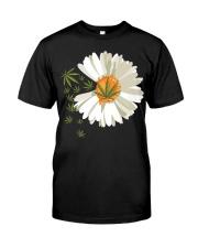 Love daisy Cannabis Classic T-Shirt thumbnail