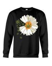 Love daisy Cannabis Crewneck Sweatshirt thumbnail