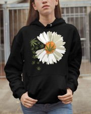 Love daisy Cannabis Hooded Sweatshirt apparel-hooded-sweatshirt-lifestyle-07