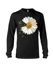 Love daisy Cannabis Long Sleeve Tee thumbnail
