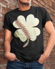 Baseball St Patricks Day Boys Men Catcher Pitcher  Classic T-Shirt apparel-classic-tshirt-lifestyle-26
