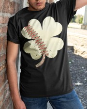 Baseball St Patricks Day Boys Men Catcher Pitcher  Classic T-Shirt apparel-classic-tshirt-lifestyle-27