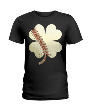 Baseball St Patricks Day Boys Men Catcher Pitcher  Ladies T-Shirt thumbnail