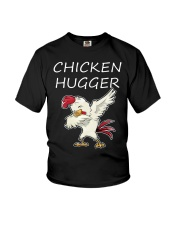 Chicken Hugger T-Shirt Youth T-Shirt thumbnail