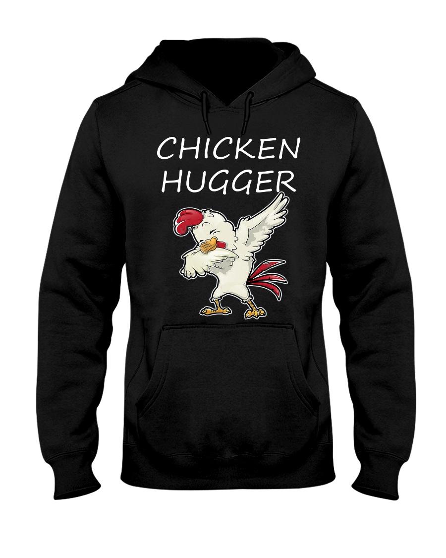 Chicken Hugger T-Shirt Hooded Sweatshirt
