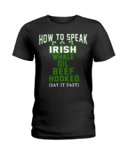 How To Speak Irish Shirt St Patricks Day Funny Ladies T-Shirt thumbnail