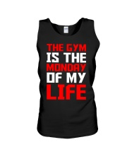 The Gym Is The Monday Of My Life T-shirt Unisex Tank tile