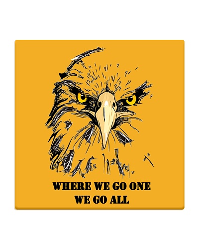 Eagle Q Anon Where We Go One We Go All T-Shir