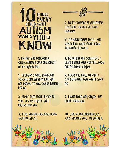 10 Things Every Child With Autism Want You To Know