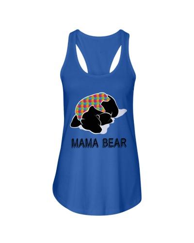 Autism Awareness Mama Bear T-Shirt Autism Mom