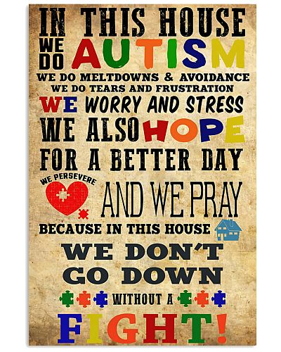 We Don't Go Down Without A Fight Autism Awareness