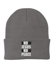 Know JESUS know PEACH218 Knit Beanie thumbnail