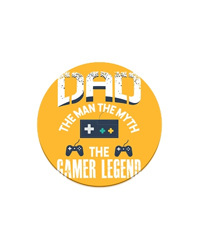 Father Dad the man the myth the gamer legend