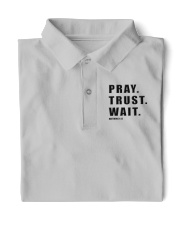 PRAY TRUST WAIT149 Classic Polo tile