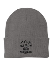 MY FAITH CAN MOVE MOUNTAINS148 Knit Beanie thumbnail