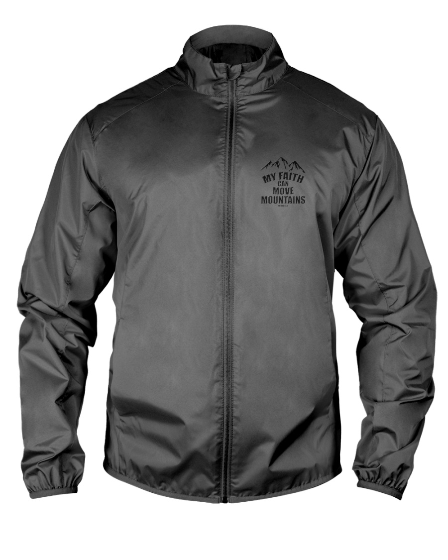 MY FAITH CAN MOVE MOUNTAINS148 Lightweight Jacket