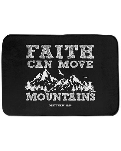 Faith can move mountains christian god