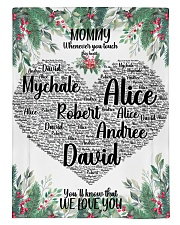 CUSTOM NAME- MOMMY WHENEVER YOU TOUCH THIS HEART Comforter - Twin XL thumbnail