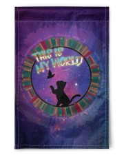 "CAT LOVERS STICKER 1 11.5""x17.5"" Garden Flag thumbnail"