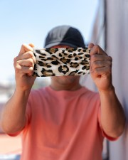 ALL ABOUT LEOPARDS  Cloth face mask aos-face-mask-lifestyle-05