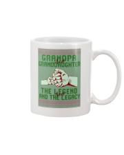 XMAS GRANDPA GRANDDAUGHTER  Mug front