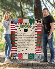 """CAT LOVERS 53 Quilt 40""""x50"""" - Baby aos-quilt-40x50-lifestyle-front-03"""