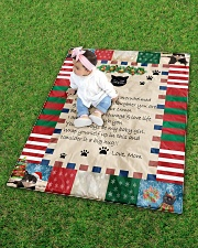 """CAT LOVERS 53 Quilt 40""""x50"""" - Baby aos-quilt-40x50-lifestyle-front-09"""