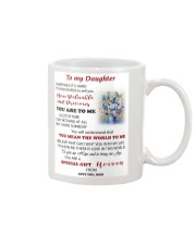 TO MY DAUGHTER FROM MOM 3 Mug front
