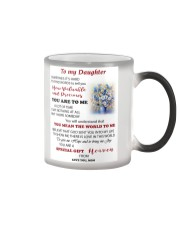 TO MY DAUGHTER FROM MOM 3 Color Changing Mug thumbnail