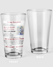 TO MY DAUGHTER FROM MOM 3 16oz Pint Glass thumbnail