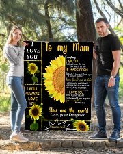 """TO MY MOM CUSTOM NAME Quilt 40""""x50"""" - Baby aos-quilt-40x50-lifestyle-front-03"""