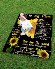 """TO MY MOM CUSTOM NAME Quilt 40""""x50"""" - Baby aos-quilt-40x50-lifestyle-front-09"""