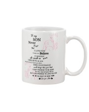 TO MY SON FROM MOM 1 Mug front
