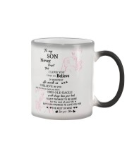 TO MY SON FROM MOM 1 Color Changing Mug thumbnail