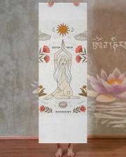 LIMITED EDITION 14 Yoga Mat 24x70 (vertical) aos-yoga-mat-lifestyle-29