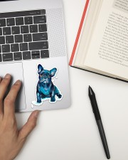 FRENCH BULLDOG 8 Sticker - Single (Vertical) aos-sticker-single-vertical-lifestyle-front-12