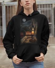 CAT LOVERS 5 Hooded Sweatshirt apparel-hooded-sweatshirt-lifestyle-07