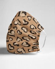 ALL ABOUT LEOPARDS  Cloth face mask aos-face-mask-lifestyle-21