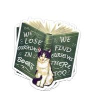 CAT LOVERS STICKER 3 Sticker - 2 pack (Vertical) front