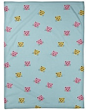 """ALL ABOUT LEOPARDS  Large Fleece Blanket - 60"""" x 80"""" thumbnail"""