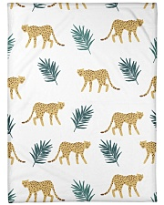 "ALL ABOUT LEOPARDS  Large Fleece Blanket - 60"" x 80"" thumbnail"