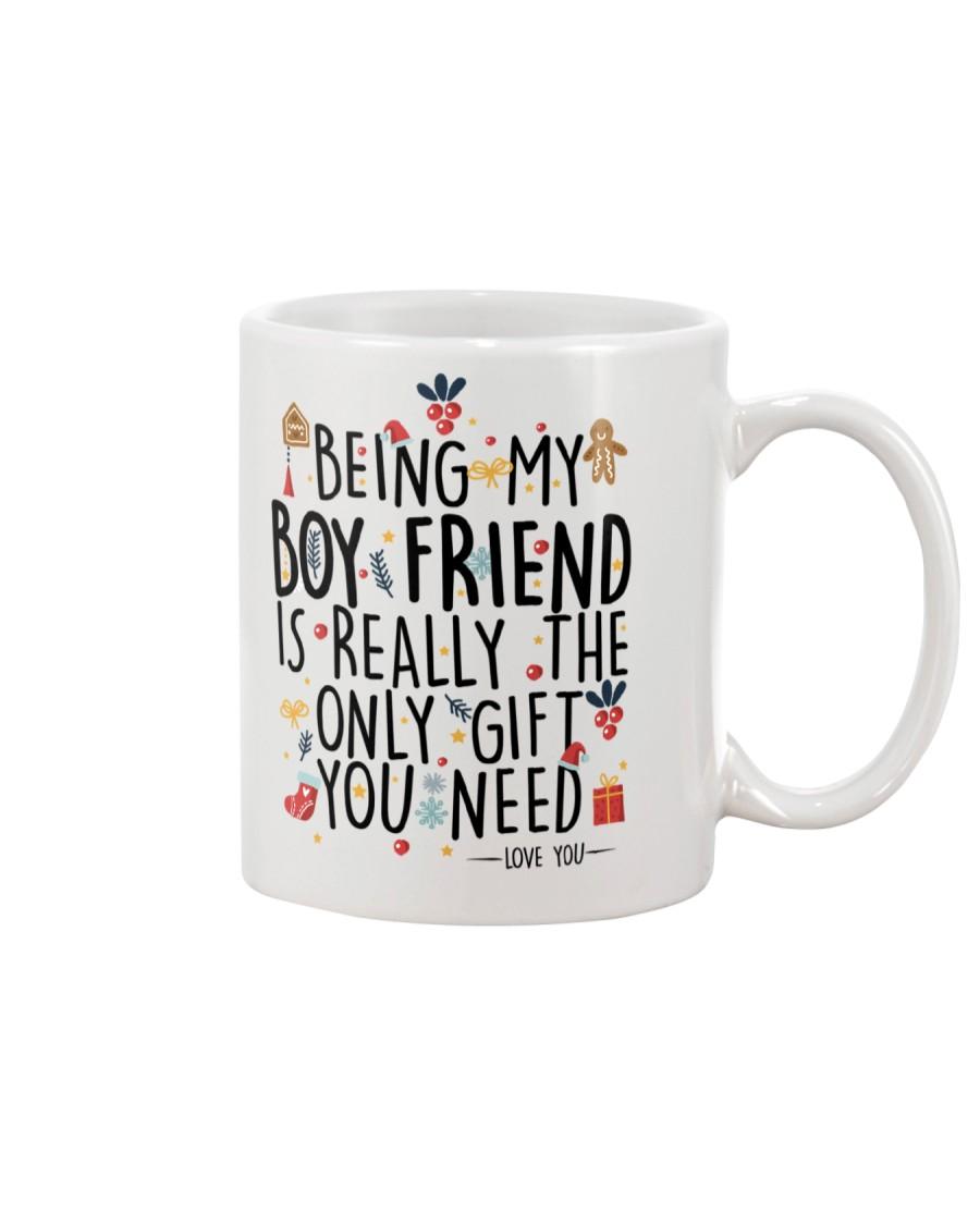 BEING MY BOYFRIEND  Mug