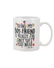 BEING MY BOYFRIEND  Mug front